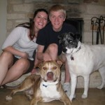Dozer with Family