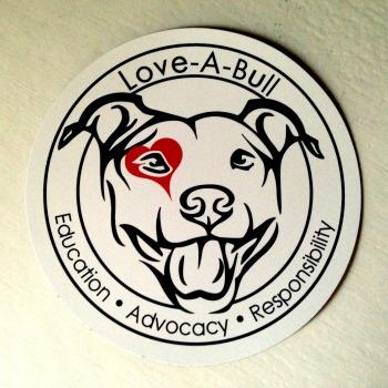 Love-A-Bull Logo Magnet